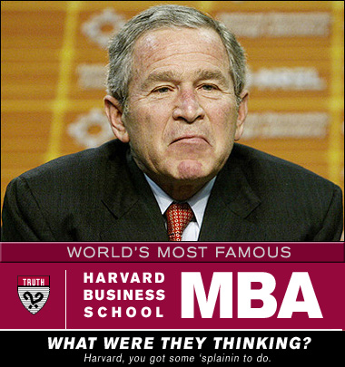 George-bush-harvard-mba