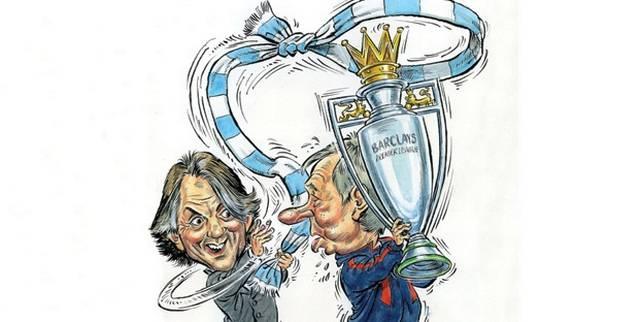Manchester+City+v+Manchester+United